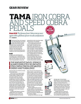 Tama Iron Cobra And Speed Cobra Pedals