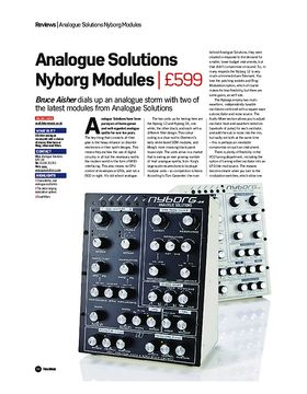 Analogue Solutions Nyborg Modules