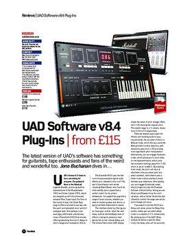 UAD Software v8.4 Plug-Ins