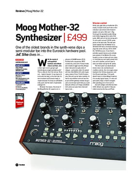 Moog Mother-32 Synthesizer