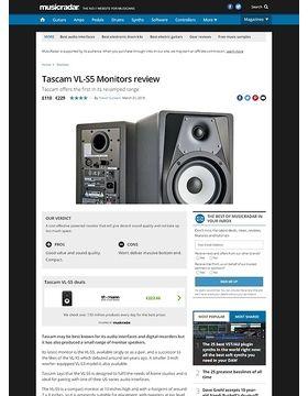 Tascam VL-S5 Monitors