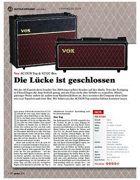 Vox AC15CH & V212C Box