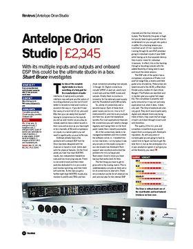 Antelope Orion Studio