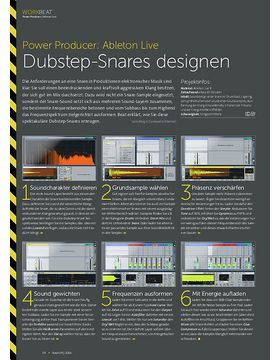 Power Producer: Dubstep-Snares designen