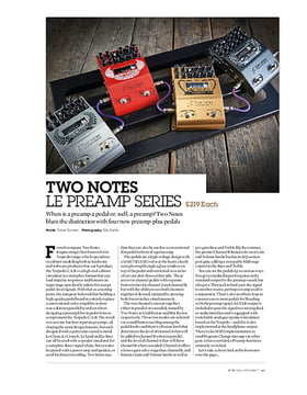 Two Notes Le Preamp Series