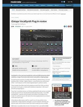 iZotope VocalSynth Plug-In