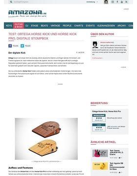 Test: Ortega Horse Kick und Horse Kick Pro, Digitale Stompbox