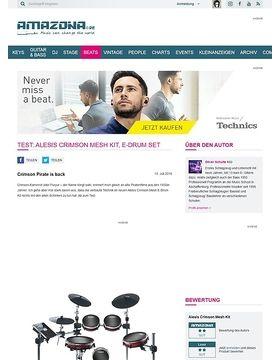 Test: Alesis Crimson Mesh Kit, E-Drum Set