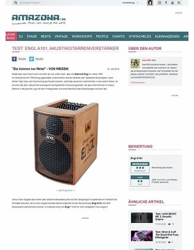 Test: Engl A101, Akustikgitarrenverstärker