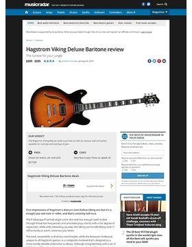Hagstrom Viking Deluxe Baritone