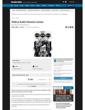 Walrus Audio Messner