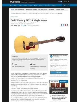 Guild Westerly F2512-E Maple