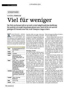 Kurzweil Forte SE