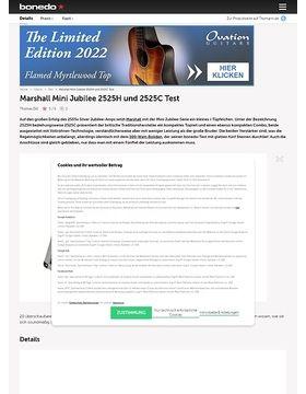 Marshall Mini Jubilee 2525H und 2525C