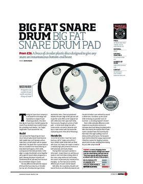 Big Fat Snare Drum Big Fat Snare Drum Pad
