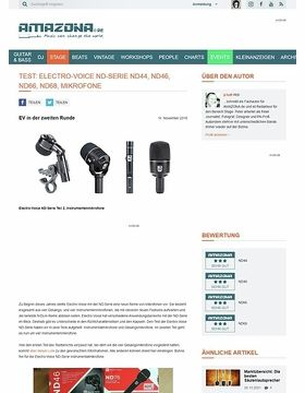 Electro-Voice ND-Serie ND44, ND46, ND66, ND68