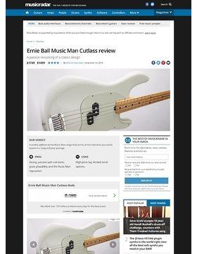 Ernie Ball Music Man Cutlass