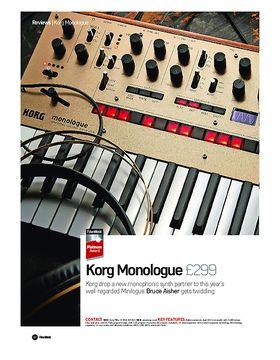 Korg Monologue
