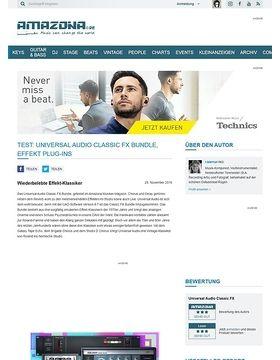 Universal Audio Classic FX Bundle