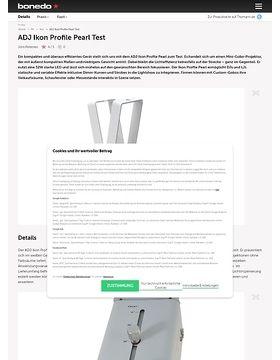ADJ Ikon Profile Pearl