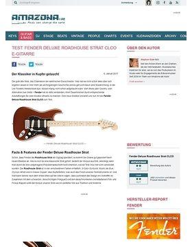 Fender Deluxe Roadhouse Strat