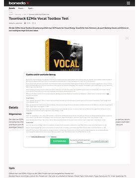 Toontrack EZMix Vocal Toolbox