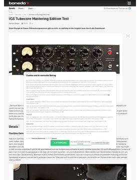 IGS Tubecore Mastering Edition