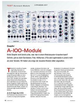 Doepfer A-100-Module