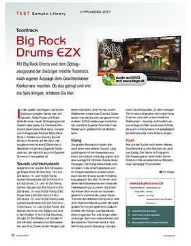 Toontrack Big Rock Drums