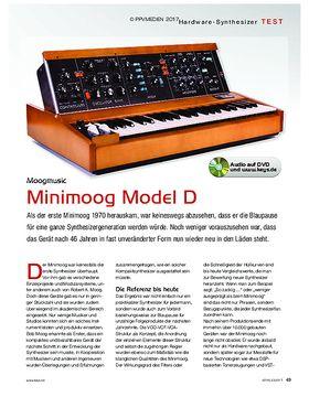 Minimoog Model D