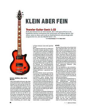 Traveller Guitar Sonic 22