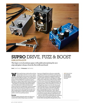 1303 Boost Pedal