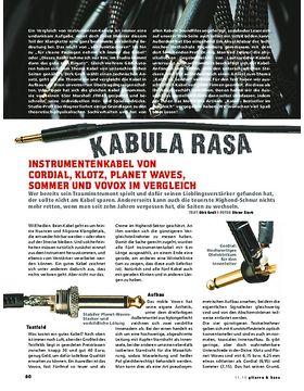 Kabula Rasa - der Vergleichstest!