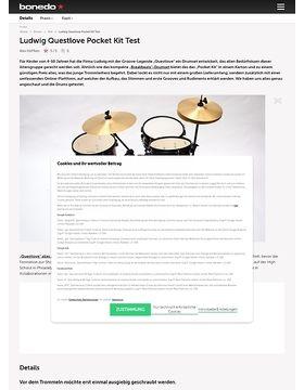 Ludwig Questlove Pocket Kit