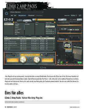 EZmix 2 Amp Packs - Native Mix-Amp-Plug-ins