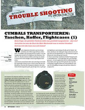 CYMBALS TRANSPORTIEREN: Taschen, Koffer, Flightcases (1)