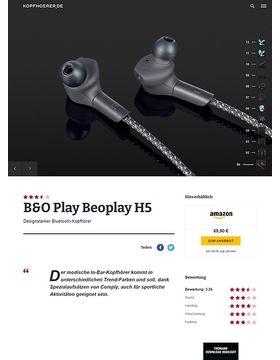 B&O Play H5 Black