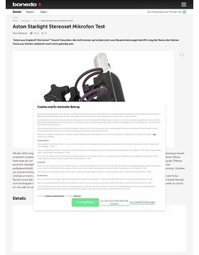 Aston Microphones Starlight Test Preview