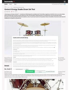 Gretsch Energy Studio Drum Set