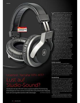 Yamaha HPH-MT7 Lust auf Studio-Sound?