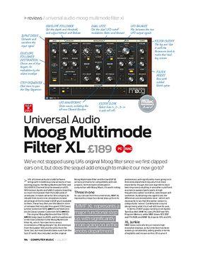 Universal Audio Moog Multimode Filter XL
