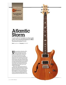 PRS CE 24 Semi-Hollow 'Reclaimed Limited'