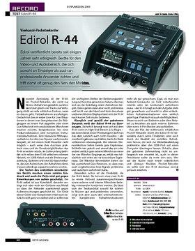 Test: Edirol R-44