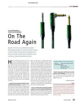 "Test: Cordial Roadline Instrumentenkabel ""On The Road Again"""