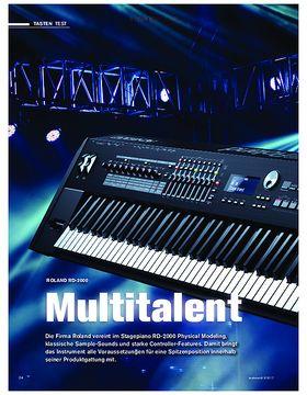 ROLAND RD-2000 Multitalent