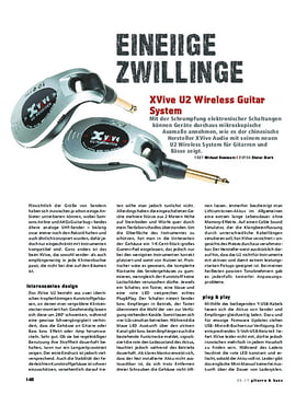 XVive U2 Wireless Guitar System
