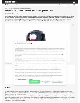 Stairville BS-280 R10 BeamSpot Moving Head