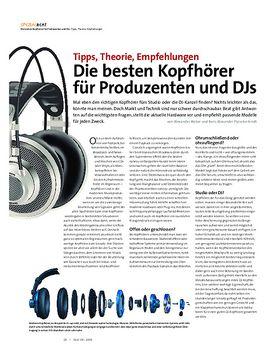 Die besten Kopfhörer für Produzenten und DJs