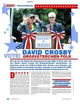 Interview: David Crosby - Großväterchen Folk