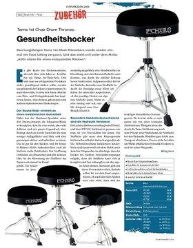 Instrumente & Technik: Tama 1st Chair Drum Thrones